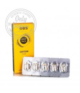 OBS Resistencias M1 0.2 Ohm 5pcs Pack Box