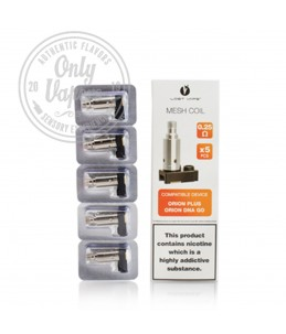 Resistencias Orion Plus, DNA GO 0.50ohm 5pcs Pack Box