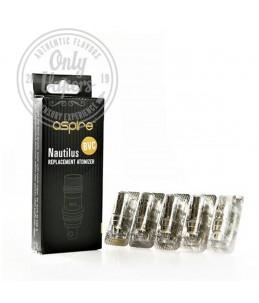 Aspire Resistencias Nautilus BVC 5pcs Pack 1.6ohm