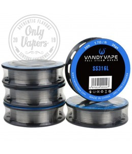Vandy Vape SS316L Wire Hilo Resistivo
