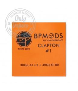BP Mods Hilo Resistivo Clapton1 30Ga A1 x + 40Ga Ni80