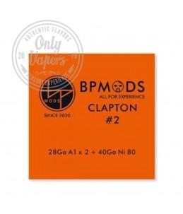 BP Mods Hilo Resistivo Clapton Nº2 28Ga A1 x 2 + 40Ga Ni80