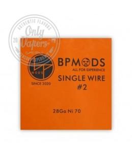 BP Mods Single Wire Nº 2 Hilo Resistivo 28 GA Ni 70