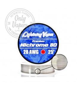 Lightning Vapes Hilo Resistivo Nichrome 80 28AWG 25'